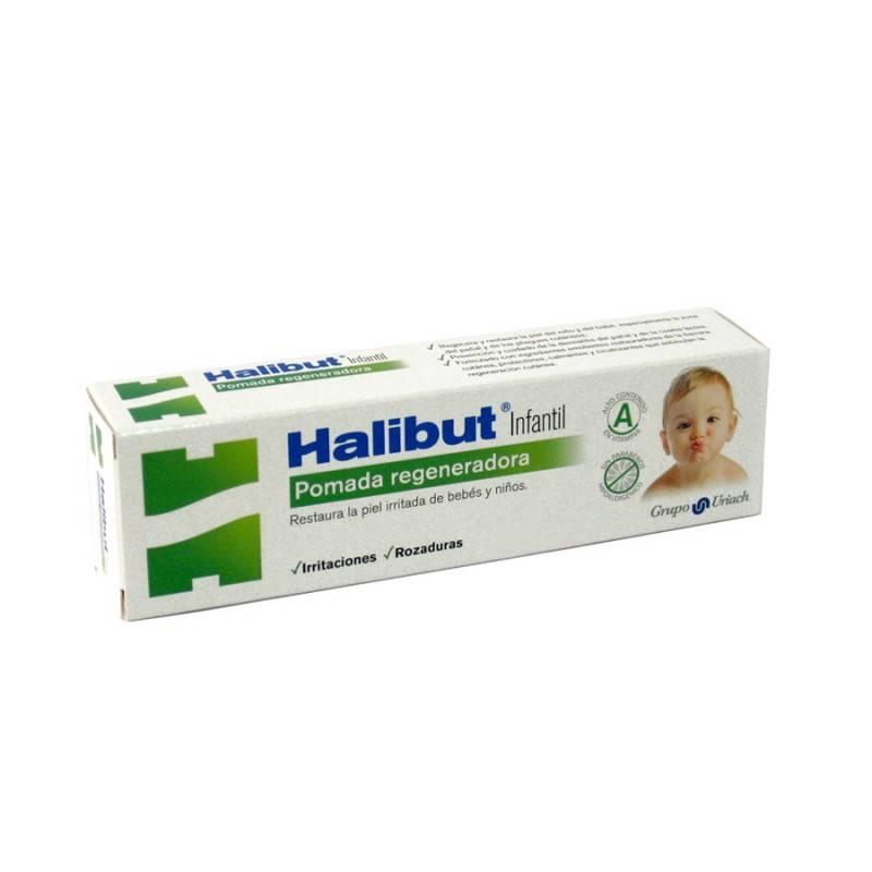 HALIBUT INFANTIL POMADA REGENERADORA 45g 163607 Higiene- Cuidado piel Infantil