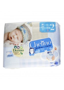 PAÑAL CHELINO T- 2 (3 - 6 KG) 28 UN 165773 Pañal infantil