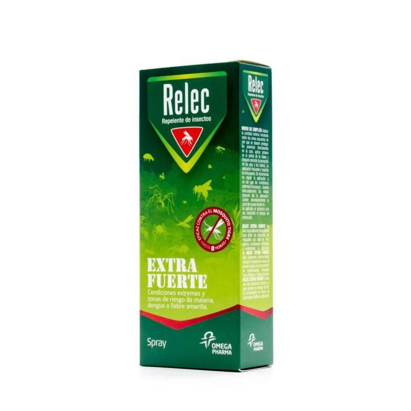 RELEC EXTRA FUERTE 50% SPRAY REPELENTE 75 ML 166764 Repelentes - Picaduras
