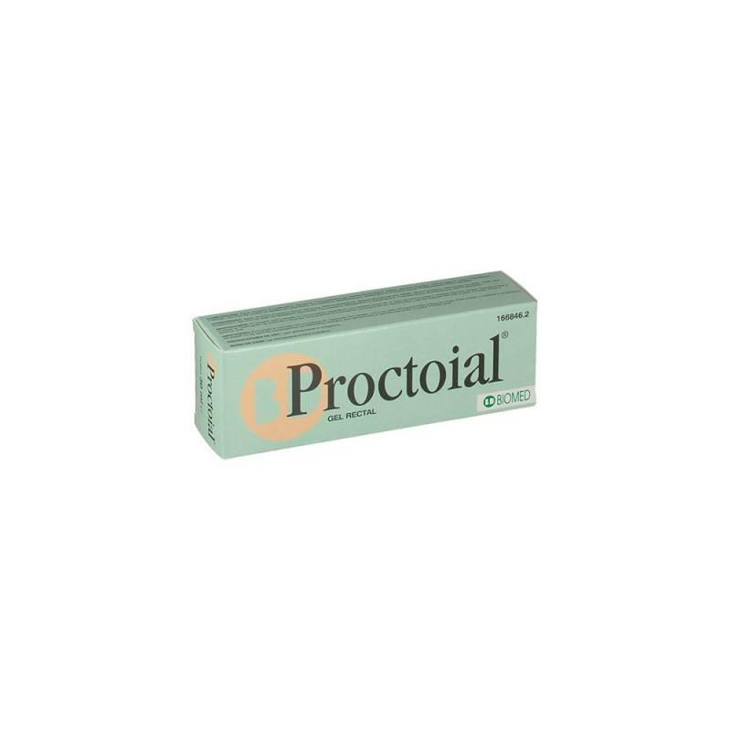PROCTOIAL GEL HEMORROIDAL CON APLICADOR 30 ML 166846 Hemorroides