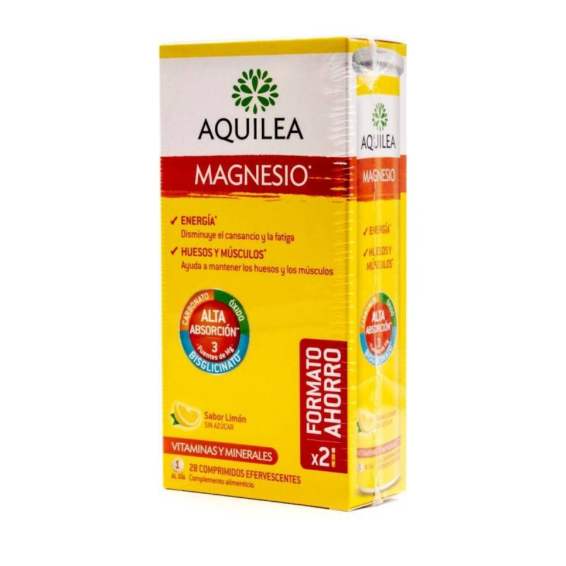 AQUILEA MAGNESIO COMP EFERVESCENTE 375 MG 28 COM 168944 Vitaminas - Minerales