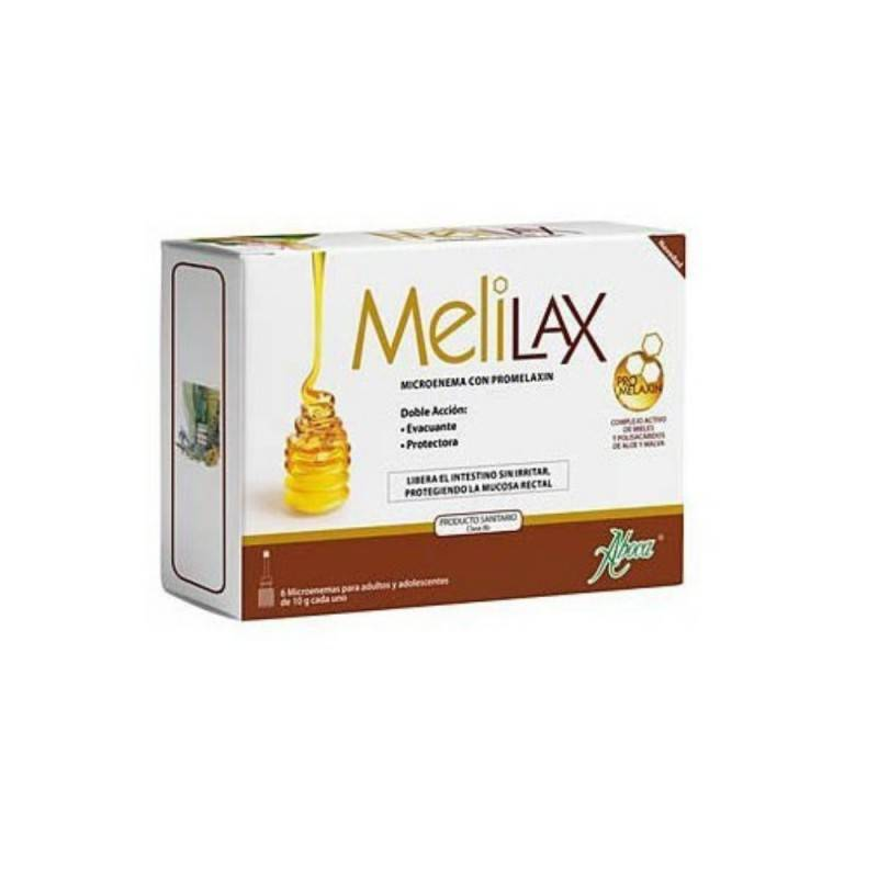 MELILAX 6 MICROENEMAS DE 10 G 169283 Laxantes