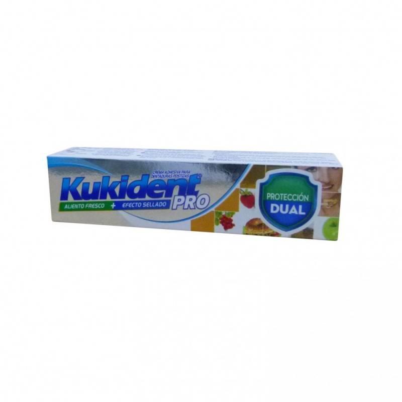 KUKIDENT PROTECCION DUAL 40GR 169371 Dentadura- Fijación- Limpieza