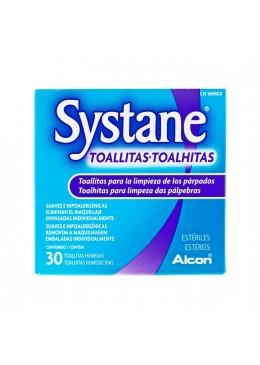 SYSTANE TOALLITAS HUMEDAS ESTERILES LIMPIEZA PAR 169450 Hidratación e Higiene