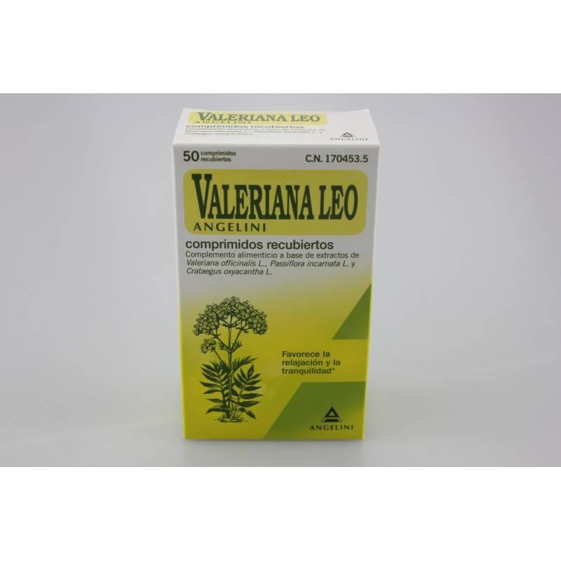 VALERIANA LEO 50 GRAGEAS 170453 Estrés- Insomnio