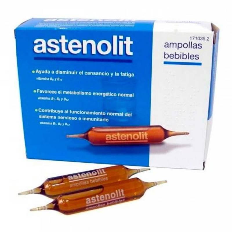 ASTENOLIT 12 AMPOLLAS BEBIBLES 171035 Vitaminas - Minerales
