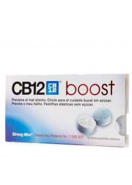 CB12 BOOST 10 CHICLES 171712 HIGIENE BUCAL