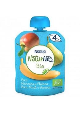 NATURNES PUCHE 4FRUTAS 90G 173325 Alimentación infantil