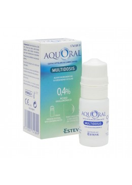 AQUORAL GOTAS OFTALMICAS MULTIDOSIS 174189 Hidratación e Higiene
