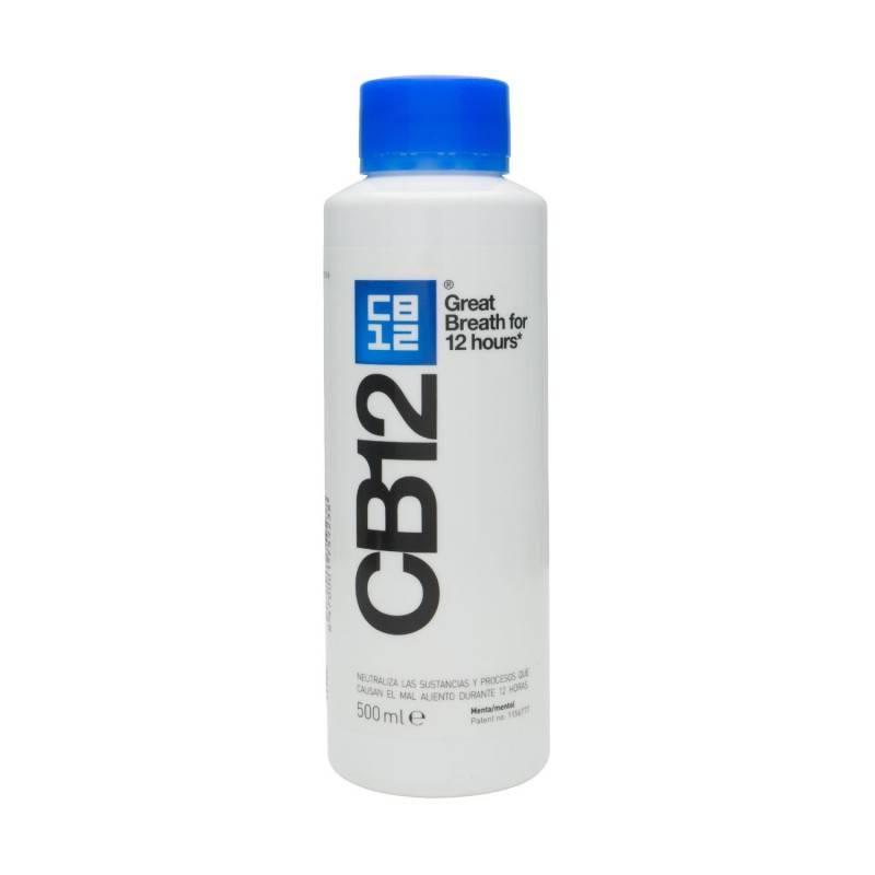 CB12 ENJUAGUE CUIDADO BUCAL 500 ML 175923 Dentífricos - Enjuages