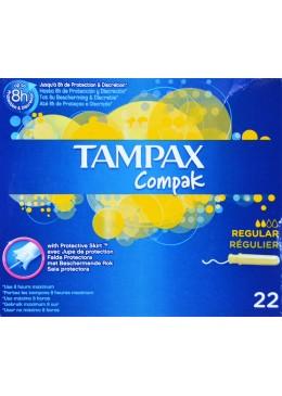 TAMPAX COMPAK REGULAR 22 U 178799 Tampones y copas menstruales