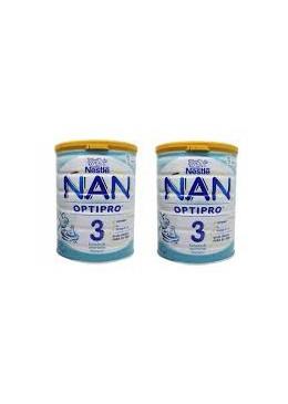 NAN OPTIPRO 3 DUPLO 2 X 800 G 185524 Alimentación infantil