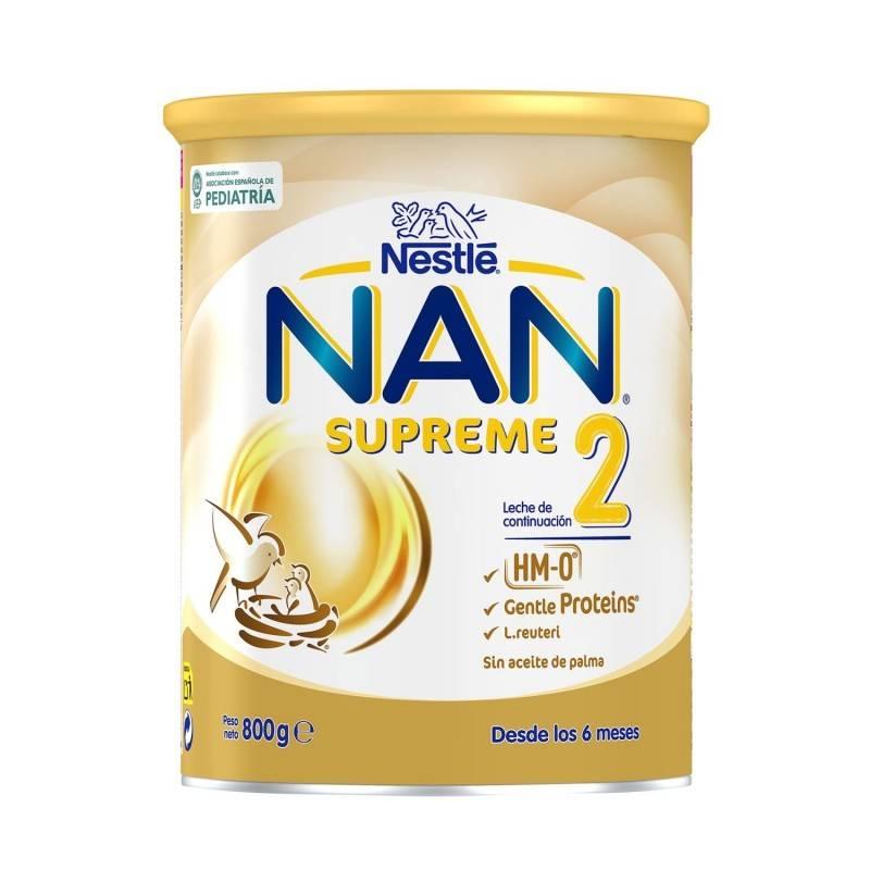 NAN 2 OPTIPRO SUPREME 800 G 183881 Alimentación infantil