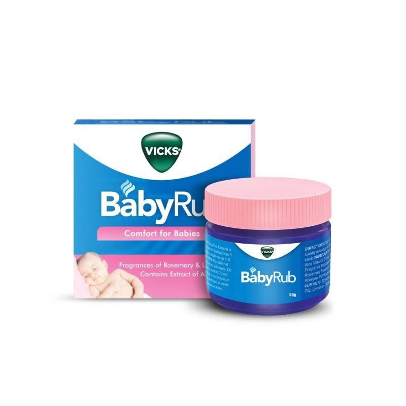 VICKS BABYRUB 50 G 184615 Resfriados-Gripes-Tos