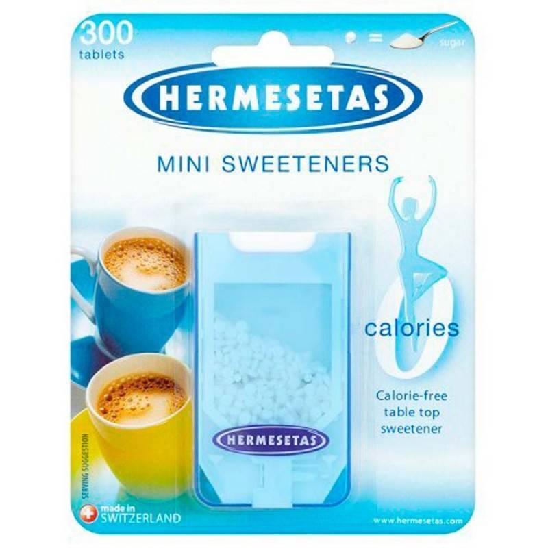 HERMESETAS 300 COMPRIMIDOS 234401 Edulcorantes