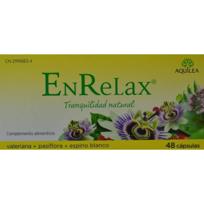ENRELAX AQUILEA VALERIANA 48 CAPSULAS 299883 Estrés- Insomnio