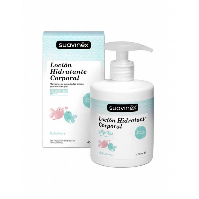 SUAVINEX PEDIATRIC LOCION HIDRATANTE 400 ML 311151 Higiene- Cuidado piel Infantil
