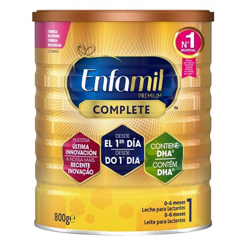ENFAMIL 1 PREMIUM 800 G (ENFALAC) 335844 Alimentación infantil