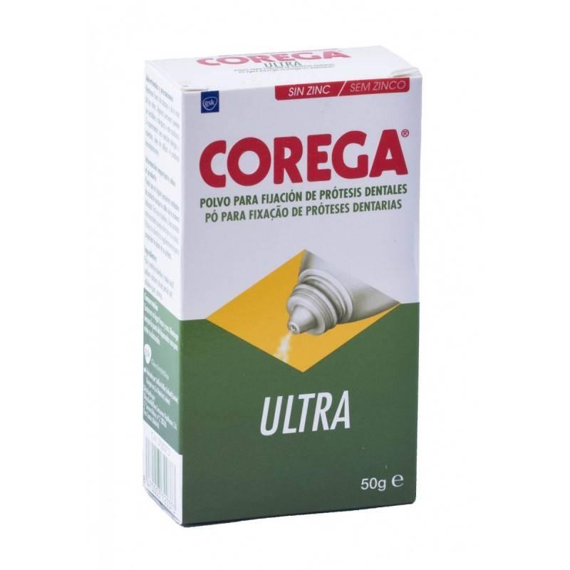 COREGA ULTRA POLVO 50 GRAMOS 372037 Dentadura- Fijación- Limpieza