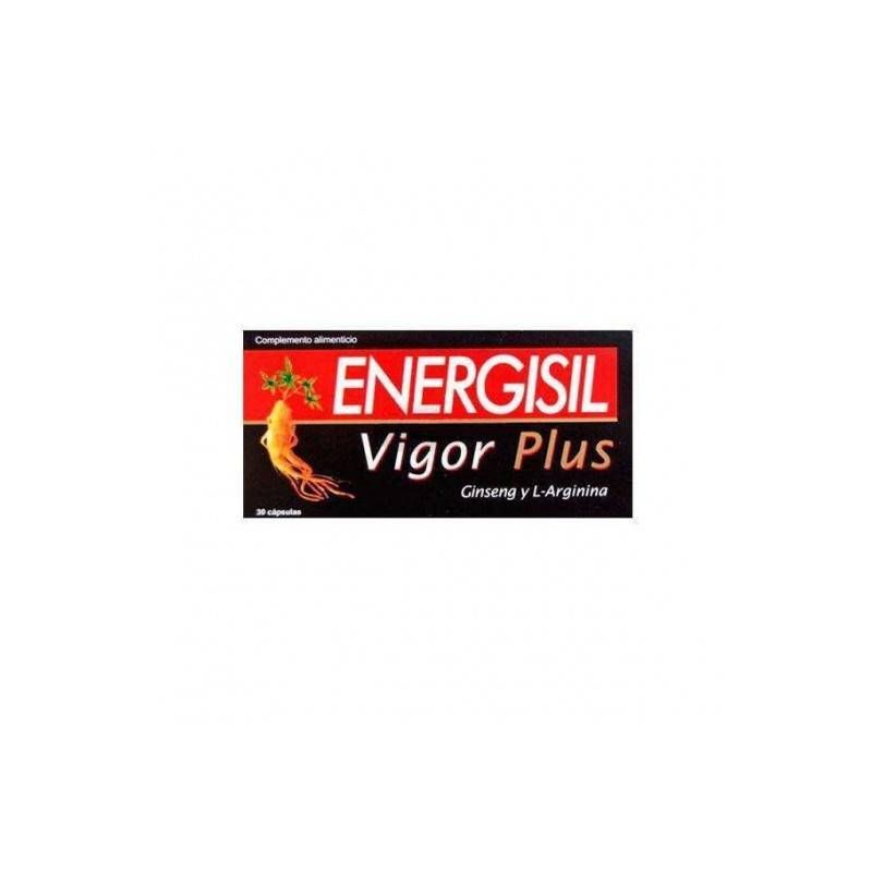 ENERGISILVIGOR -GINSENG 30 CAPSULAS 250852 Estimulantes- Energéticos