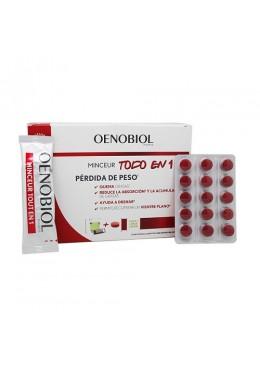 OENOBIOL MINCEUR TODO EN 1 30 STICKS + 60 COMPRIMIDOS 196186 COMPLEMENTOS NUTRICIONALES