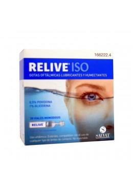 RELIVE ISO ESTERIL 0.4 ML 30 MONODOSIS 166222 SALUD OCULAR