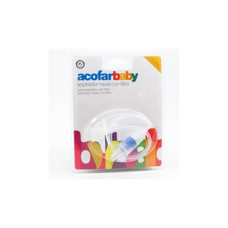 ACOFARBABY ASPIRADOR NASAL CON FILTRO 323288 Higiene- Cuidado piel Infantil