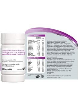 MULTICENTRUM MUJER 50+ 90 COMP 173189 Vitaminas - Minerales
