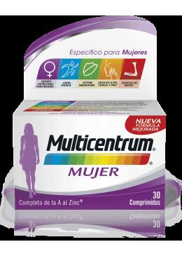 MULTICENTRUM MUJER 30 COMP 166001 Vitaminas - Minerales