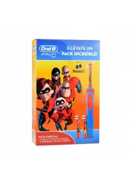 ORAL B PACK LOS INCREIBLES 070072 HIGIENE BUCAL