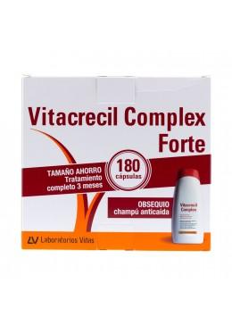 VITACRECIL COMPLEX FORTE 180CÁPS + CHAMPÚ 017160 Piel - Cabello- Uñas