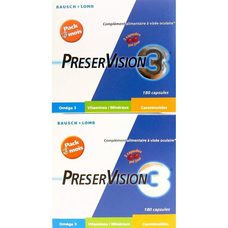 PRESERVISION 3 180 CAP (DUPLO) 016376 OFERTAS ACTUALES