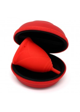 ESTUCHE COPA SILEUCASE COLOR ROJO TALLA S 007210 Tampones y copas menstruales