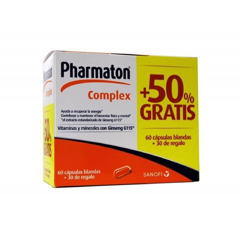 PHARMATON COMPLEX 60 +30 CAPSULAS PACK 197273 Vitaminas - Minerales