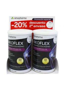 ARKOFLEX COLAGENO LIMON DUPLO 2 X 360G 046165 Articulaciones- Huesos