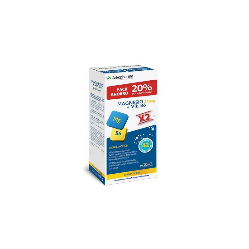 ARKOVITAL MAGNESIO VITAMINA B6 42 COMPRIMIDOS EFFERVESCENTES 045979 Vitaminas - Minerales