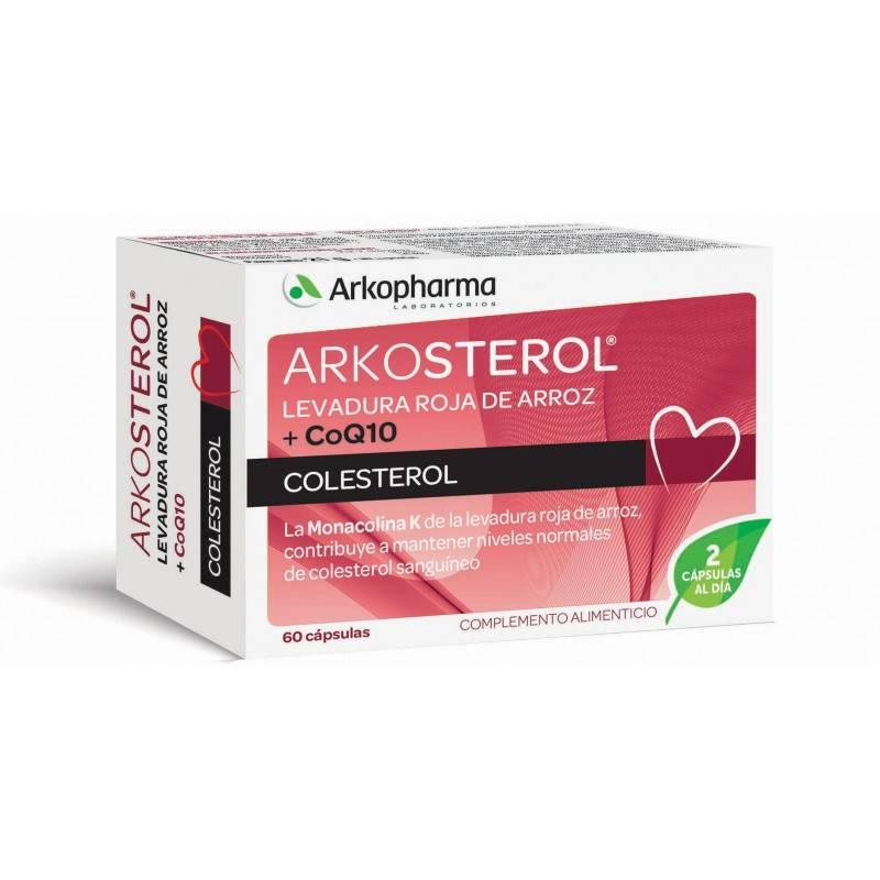 ARKOSTEROL LEVADURA ROJA Q10 60X2 046267 COMPLEMENTOS NUTRICIONALES