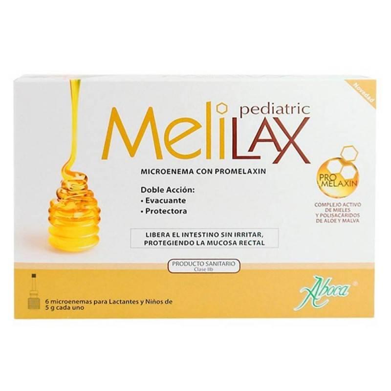 MELILAX PEDIATRICO 6 MICROENEM 169285 Laxantes