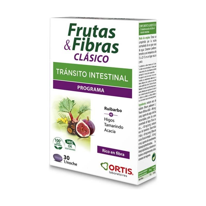 ORTIS FRUTAS Y FIBRAS CLASICO 30 COMP 169397 Laxantes