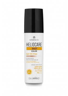 HELIOCARE 360 SPF50+ GEL OIL FREE COLOR BRONZE 50 ML 187358 Protector solar