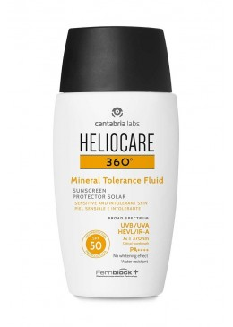 HELIOCARE 360º SPF 50 MINERAL TOLERANCE FLUID 184760 Protector solar