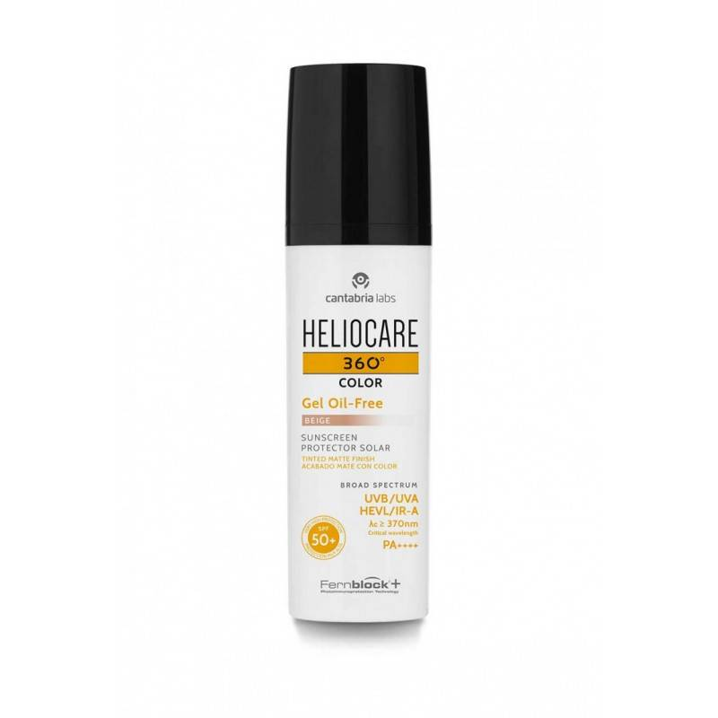 HELIOCARE 360 COLOR GEL OIL FREE BEIGE 50 ML 187359 Protector solar