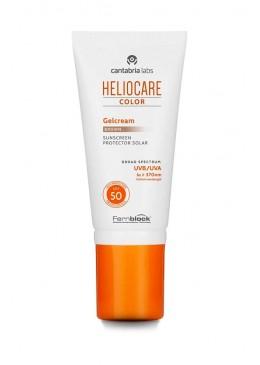 HELIOCARE COLOR GELCREAM LIGHT 50 ML 163815 Protector solar