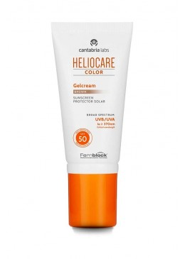 HELIOCARE COLOR GELCREMA BROWN SPF50 50 ML 157143 Protector solar