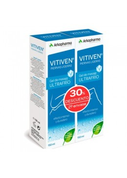 VITIVEN GEL ULTRA FRIO DUPLO 046265 Pies y Piernas