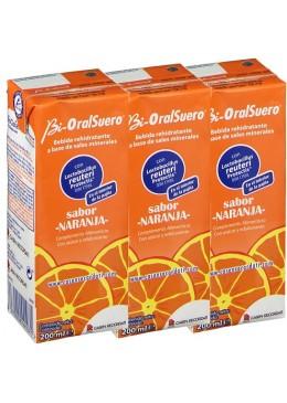 BIORALSUERO 200 ML NARANJA 3 TETRABIK 244107 COMPLEMENTOS NUTRICIONALES