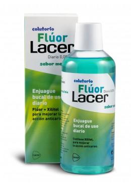 LACER COLUTORIO FLUOR DIARIO 0,05 % MENTA 500 ML 212209 Dentífricos - Enjuages