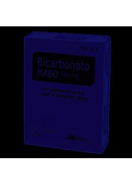 BICARBONATO MABO 500 MG 30 COMP 193127 COMPLEMENTOS NUTRICIONALES