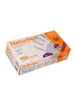 GUANTES VINILO NATURFLEX S/POLVO MEDIANA 100 UDS 124144 Efectos-Material