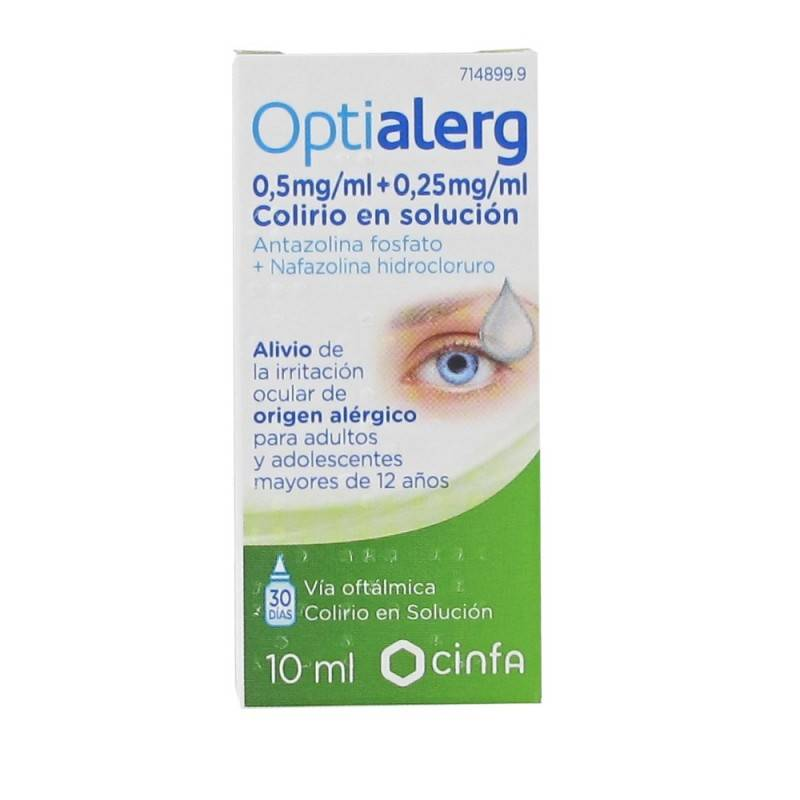 OPTIALERG 10 ML 714899 Hidratación e Higiene